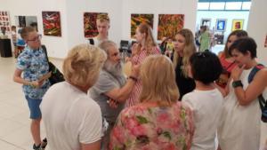 Lezione di arte con Vittorio Amadio